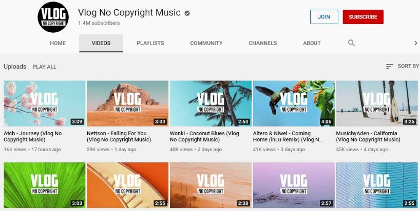 10 Situs Download Backsound Free Copyright Untuk Video Youtube Vlog 100 Aman Review Teknologi Sekarang