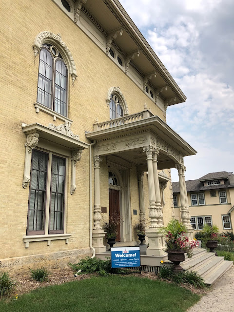Lincoln Tallman House impressively greets visitors!