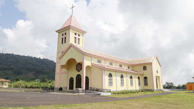 Iglesia de Moca is the nicest church in Equatorial Guinea