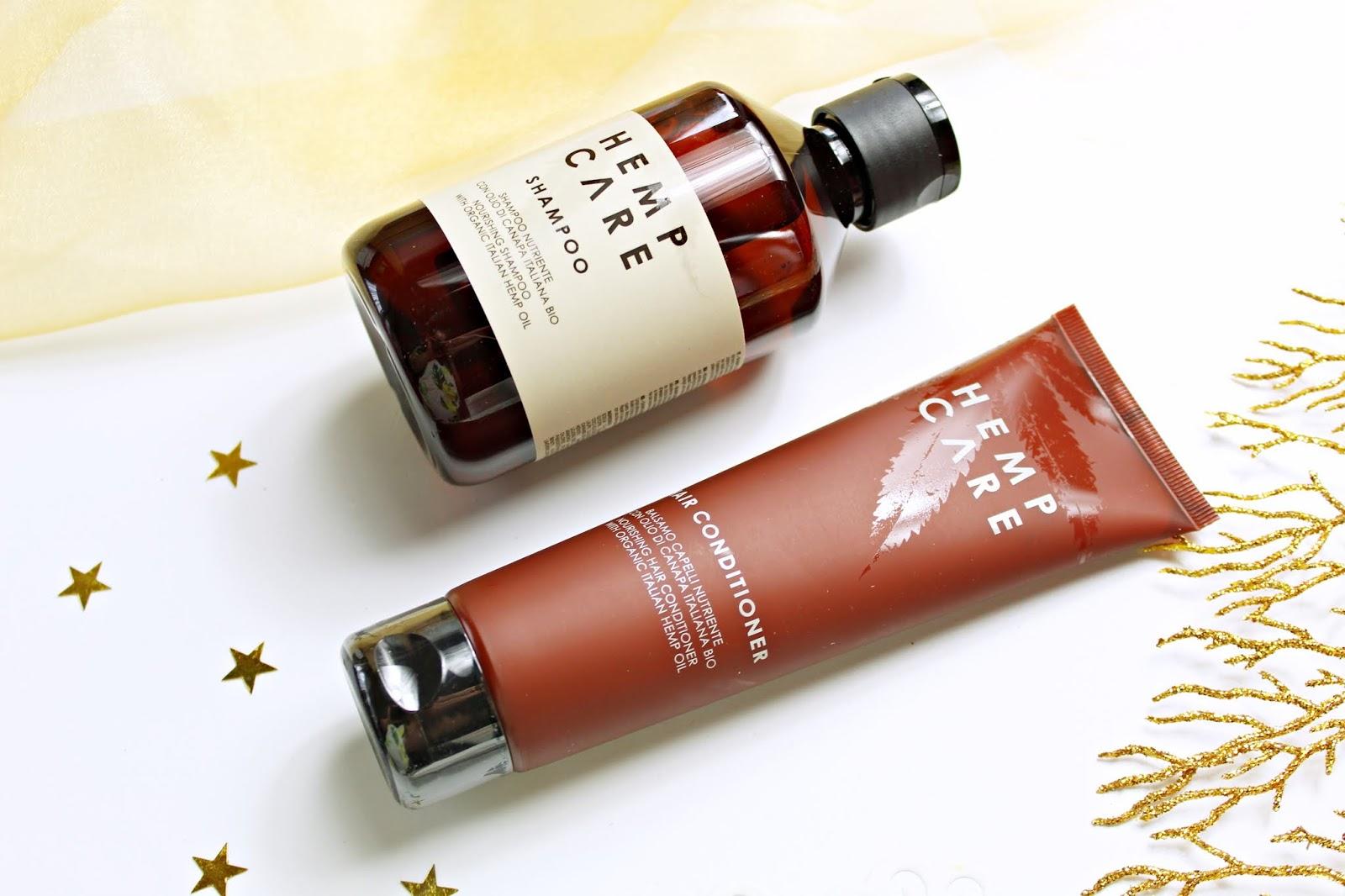 HEMP CARE - szampon do włosów i odżywka z organicznym olejem konopnym
