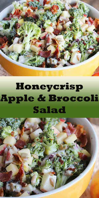 HONEYCRISP APPLE & BROCCOLI SALAD RECIPE