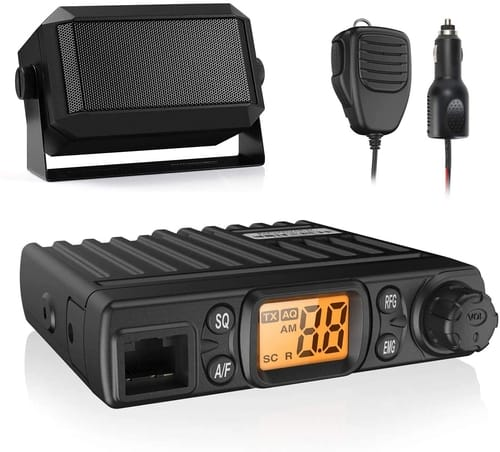 Radioddity CB-27 Mini CB Radio Mobile