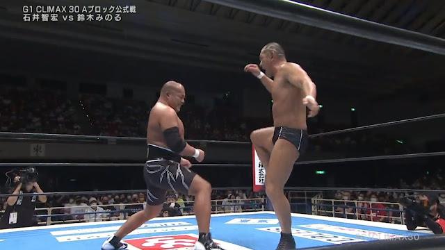 Tomohiro Ishii vs. Minoru Suzuki at G1 Climax 30