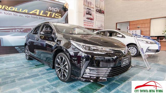 Đánh giá xe Altis V Sport 2018 tại Toyota Hùng Vương ảnh 7