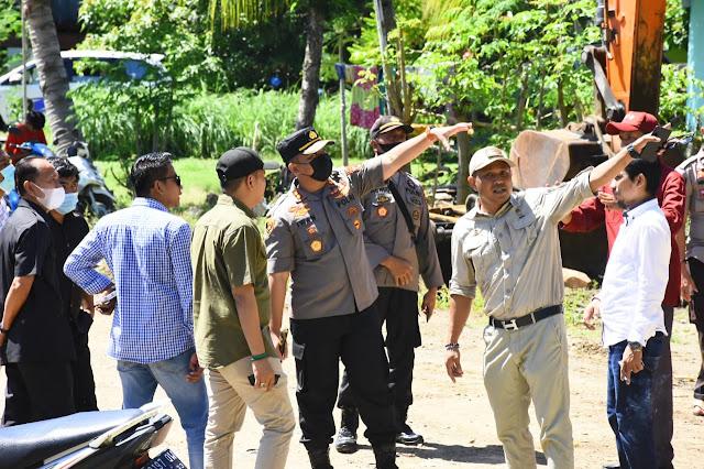 Komisi III DPRD Sambangi Lokasi Tambang Galian C di Sinjai Timur