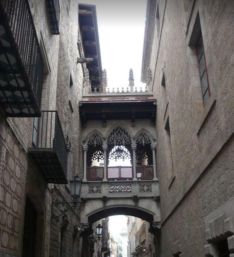 Scorcio del barrio Gotico