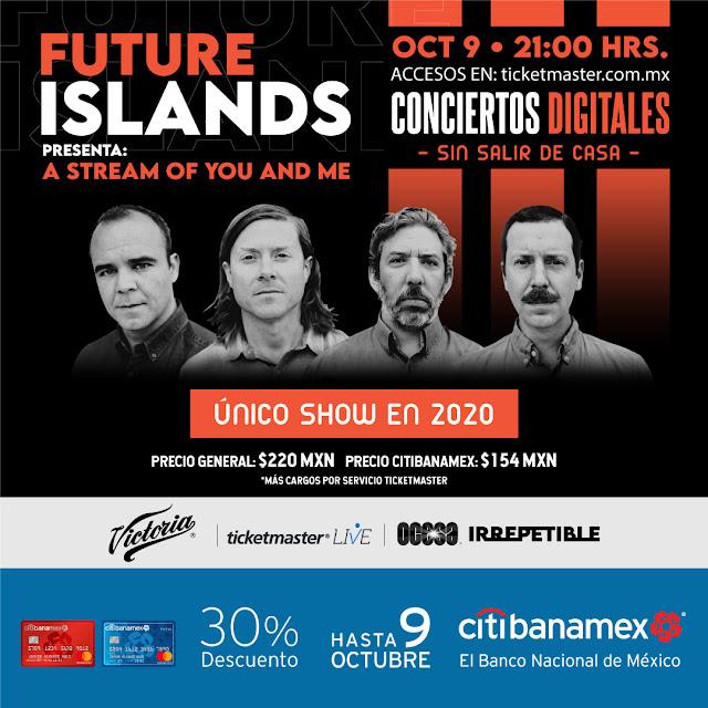 """Future Islands llega al formato de """"Irrepetible"""" con show único del 2020"""