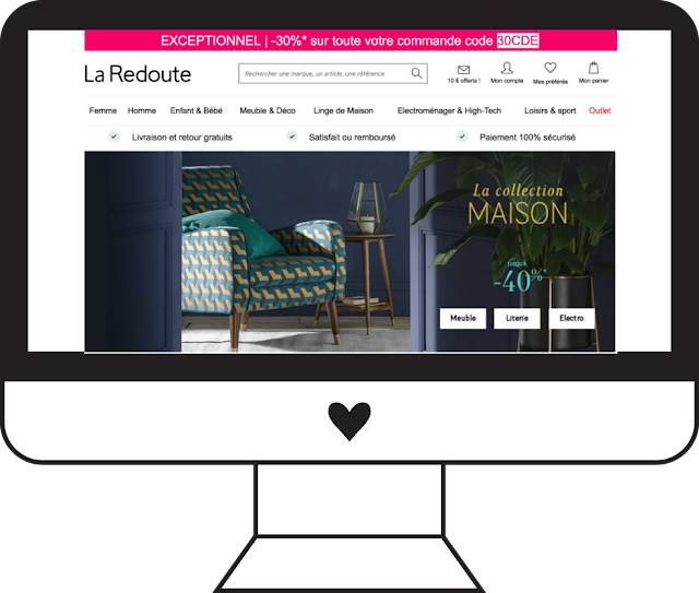 bon plan code promo Sephora The Beautyst La Redoute