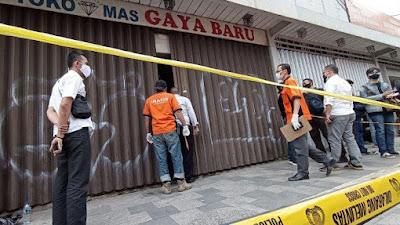 Perampokan Toko Mas di Bandung, Pemiliknya Tewas