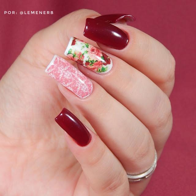 nail-art-vinho