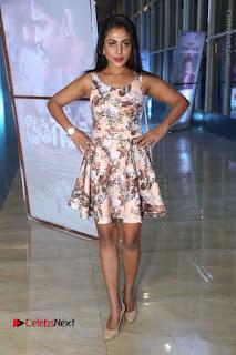 Actress Madhu Shalini Stills in Floral Short Dress at RGV Shiva to Vangaveeti Event  0153.JPG