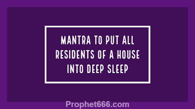 Spell to put all members of a House into Deep Sleep