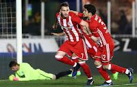 Τα στιγμιότυπα του ματς κυπέλλου Ατρόμητος - Ολυμπιακός 1-2