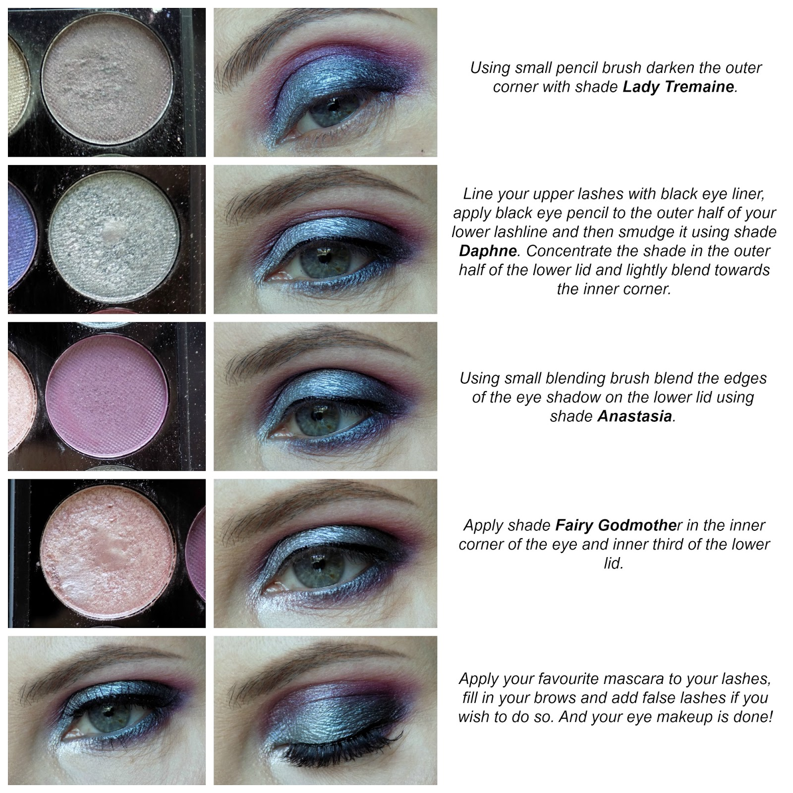 Sleek 'Enchanted Forest' palette makeup look tutorial