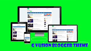 G Vusion 2 Update Responsive Blogger Theme - Responsive Blogger Template