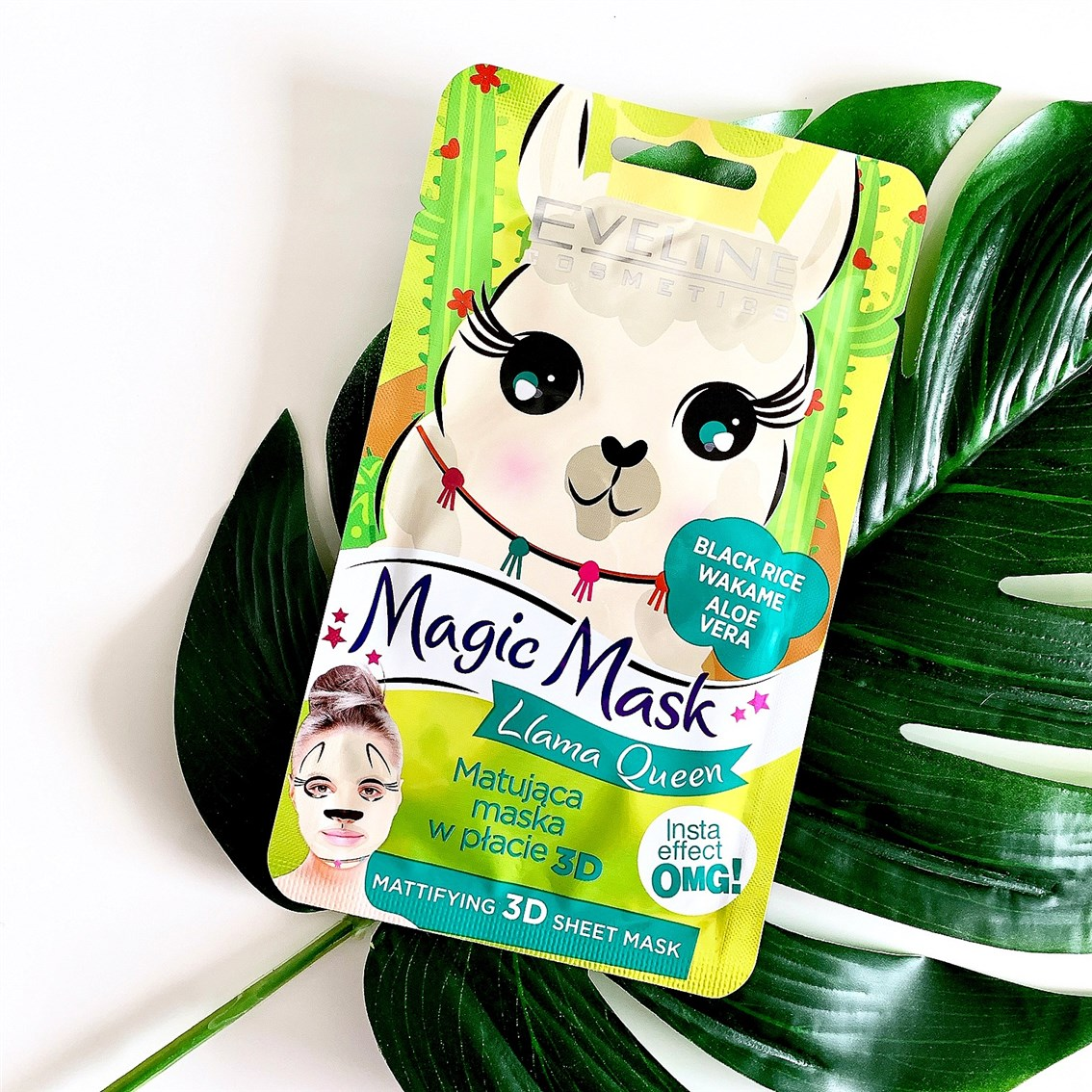 Eveline Cosmetics Magic Mask Llama Queen
