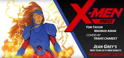 """""""X-Men: Red"""" la nueva serie de la resucitada Jean Grey"""