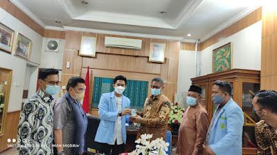 Wujudkan Sinergi, BKPRMI Kota Padang Jalin Silaturahmi dengan DPRD Kota Padang