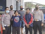 Bawa Sabu, Dua Warga Kalianda Diamankan Satlantas Polres Lamsel