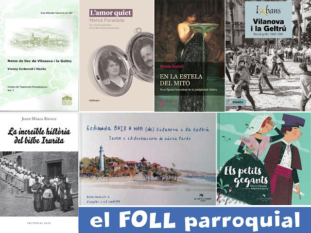 Propostes de llibres de Vilanova i la Geltrú per Sant Jordi