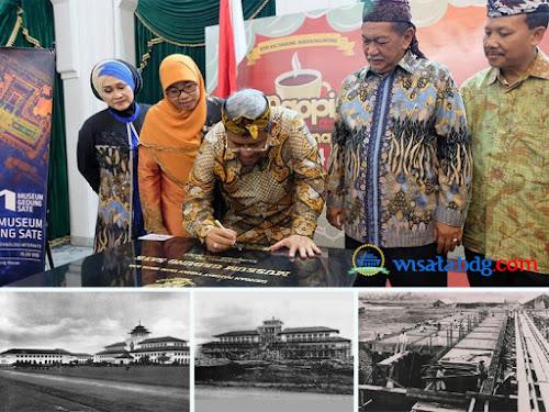 Peresmian Museum Gedung Sate Bandung
