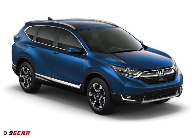2017 Honda CR-V EX, EX-L, Touring 1.5-liter turbocharged DOHC 190 ...