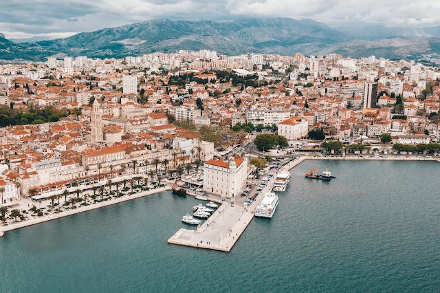 split croatie voyage