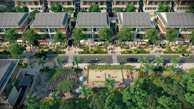 Biệt thự khu đô thị Dương Nội.