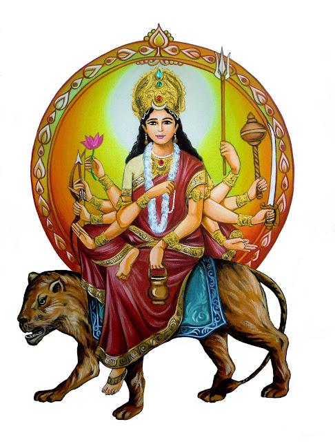 3-Maa-Chandraghanta