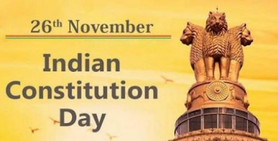 Indian Constitution Day - 70th Anniversary - November 26, 2019