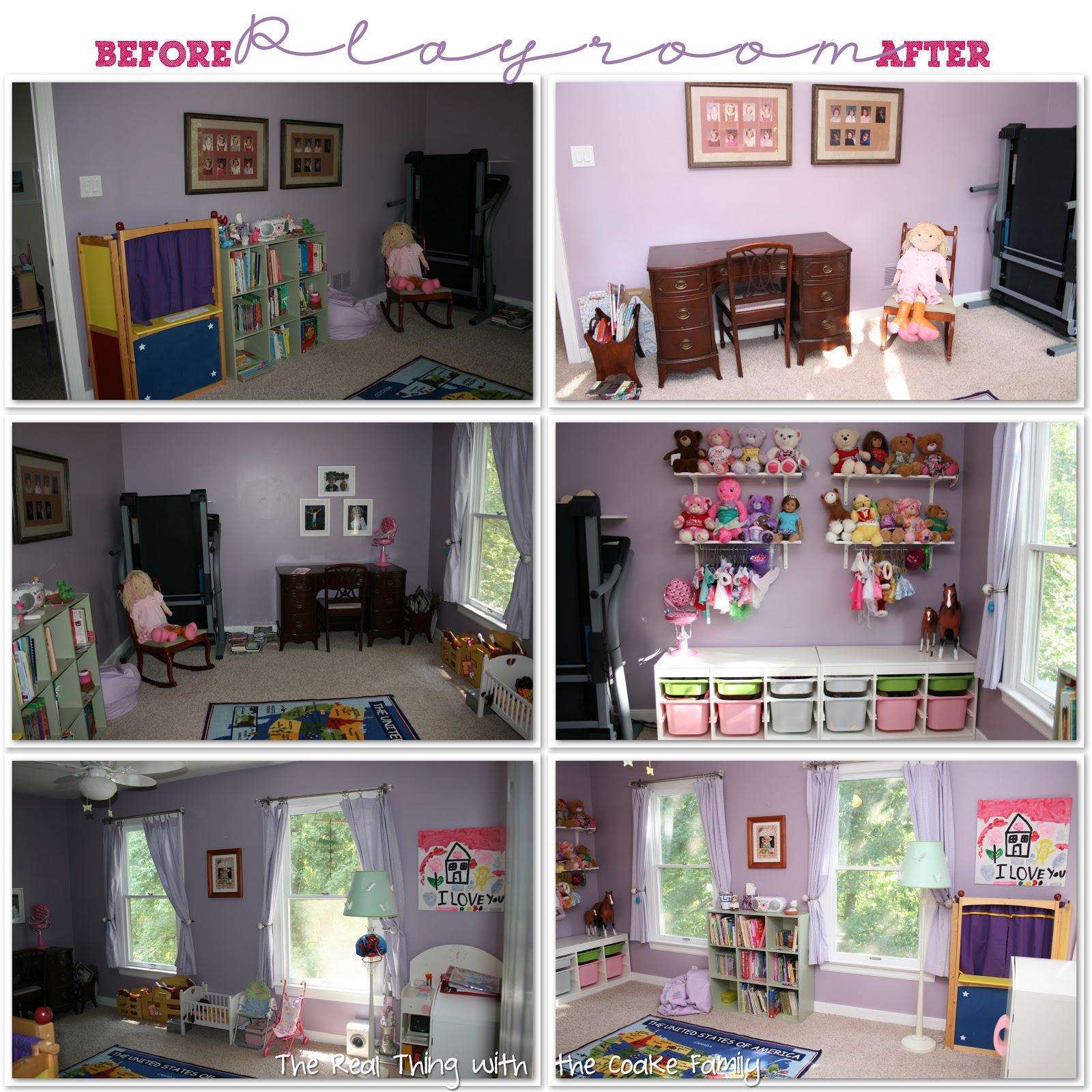 Toy Storage Kid S Playroom Reorganization