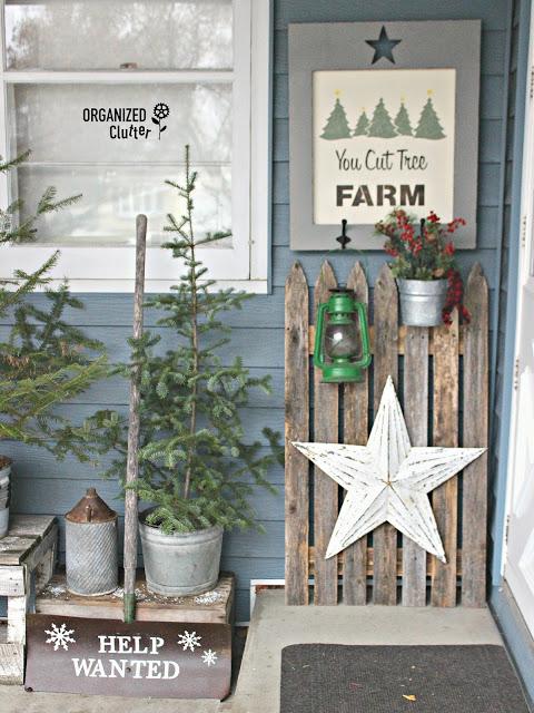 You Cut Tree Farm Outdoor Decor