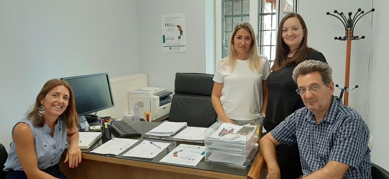 Δικτύωση του Κέντρου Κοινότητας Δήμου Τυρνάβου και του παραρτήματος Ρομά με το Σχολείο Δεύτερης Ευκαιρίας