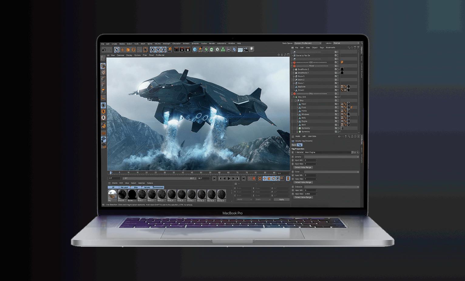 Las nuevas GPU AMD Radeon Pro serie 5000 brindan un rendimiento gráfico excepcional al iMac de 27 pulgadas