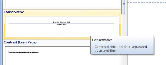 Header Conservative