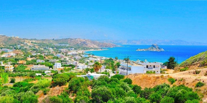 Kefalos, paesino dell'isola di Kos, Grecia