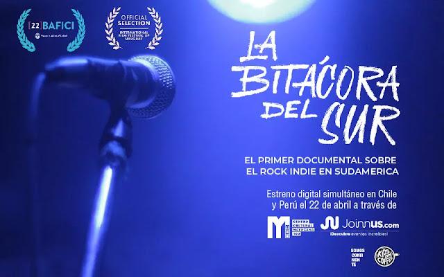 """""""La Bitácora del Sur"""" se estrena de manera simultánea en Chile y Perú"""