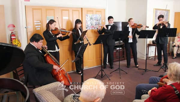 Orchestral Passion Spreading Love of God in Melbourne, VIC