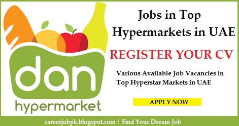 Register Your CV at Top Hypermarkets in UAE