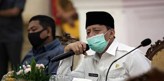 Gubernur Banten Perpanjang PSBB Satu Bulan Penuh