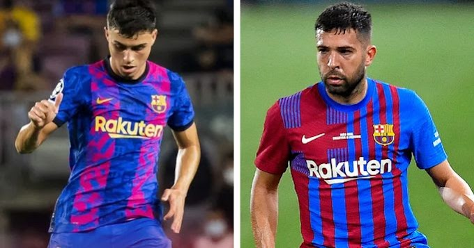 Pedri and Alba officially out with muscle injury
