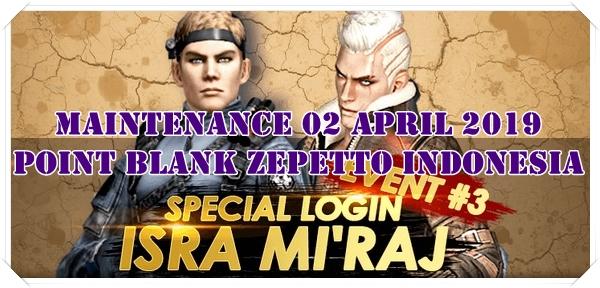 Event LOGIN SPESIAL Isra dan Mi'raj (Point Blank Zepetto)