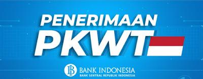 Bank Indonesia melakukan Pembukaan Rekrutmen melalui Tenaga Kerja PKWT khusus bagi pelamar yang memiliki pengalaman dan kompetensi yang dibutuhkan Bank Indonesia. Informasi dan pengisian lamaran dapat diakses melalui tautan berikut: