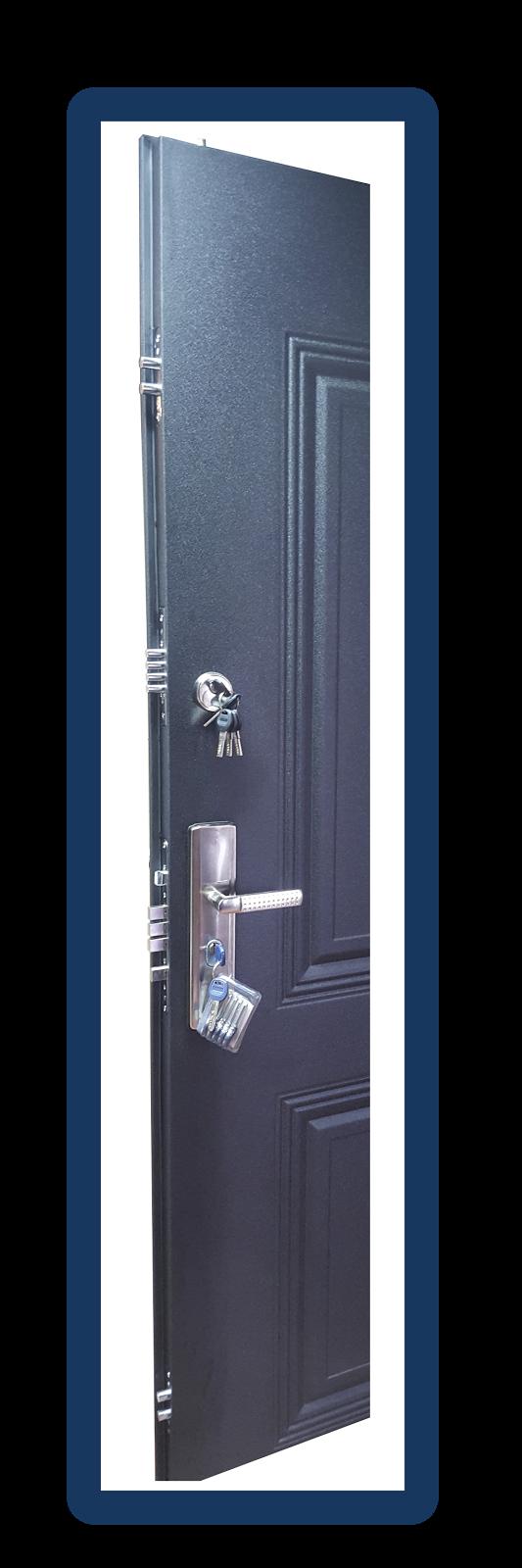 Puertas de seguridad estilo europeo ventanas de aluminio - Cerraduras para puertas blindadas ...