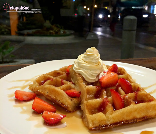 Strawberry Cream Cheese Waffle from Single Origin