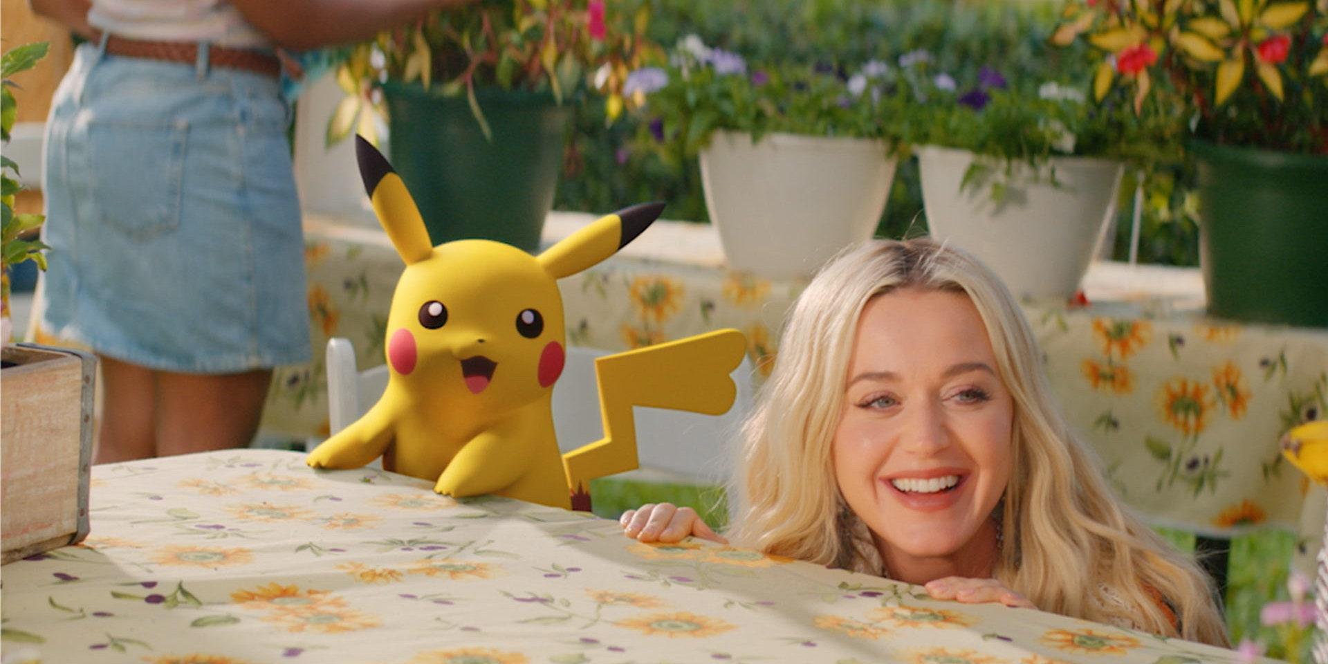 Katy Perry dan Pokemon