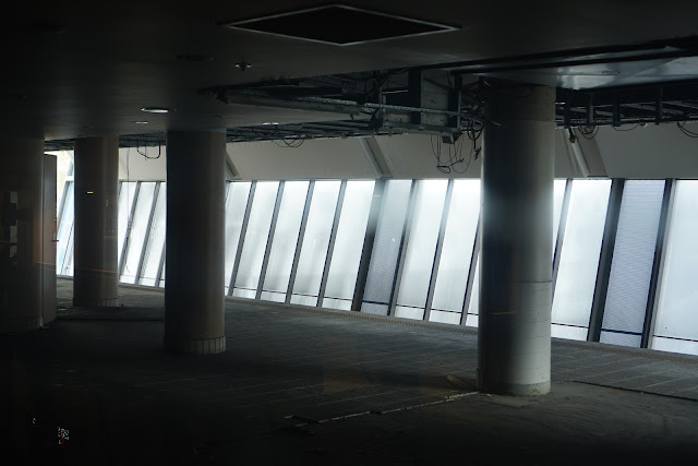 Abandoned Chinatown Monorail Station interior (Number One Dixon Shopping Centre)