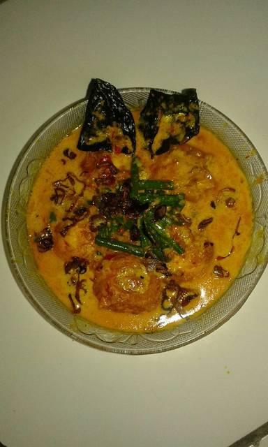 Resep telur gulai kacang panjang ala rumah makan ciwidey