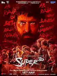 super 30 Full Movie Download  in HD, 720p leaked by Tamil rockers & movie counters