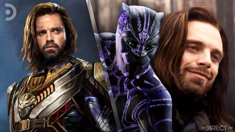 Avengers: Infinity War concept art shows Bucky wearing Wakanda armor